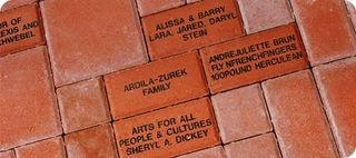 Brick closeup