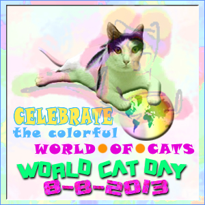 World cat day 2013