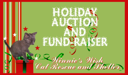Holiday auction header