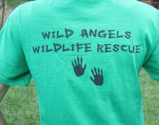 Wildlife rescue t-shirt back