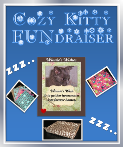 Cozy Kitty FUNdraiser Banner
