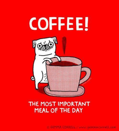 Coffee most important meal