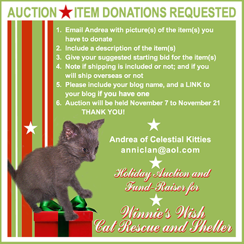 Auction christmas 2015 item donations request