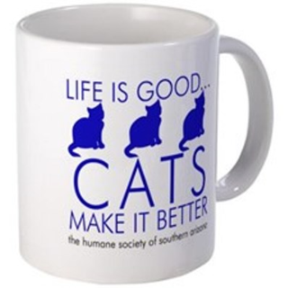 Coffee - life is good cats