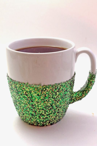 Coffee - glitter