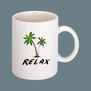 Coffee - palm trees2