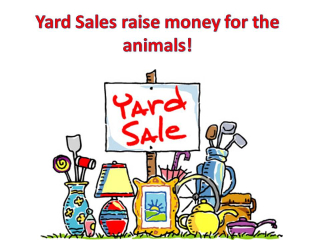 Yard sales raise money